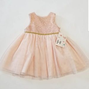 Other - NWT baby toddler girl pink tulle dress